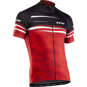 Northwave Origin Short Sleeve Jersey Men red/black/white